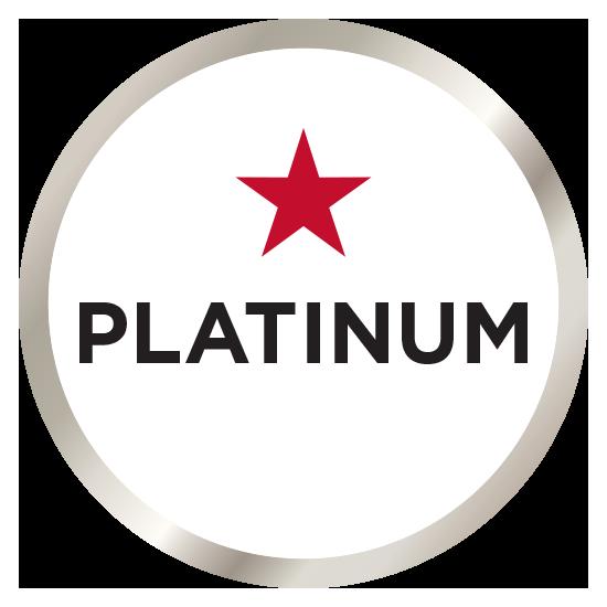Media Guide Platinum badge